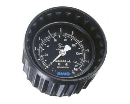 Manometr pneuhustiče Euroair 80mm 0-10bar