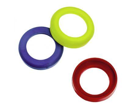 Kroužek 13mm žlutý