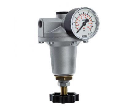 "Regulátor tlaku precizní DRF G 1/4"" 0,5-10bar"
