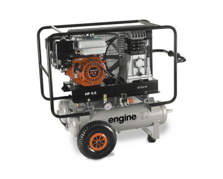 Kompresor pístový Engine Air 5,5/2x11 přenosný benzín