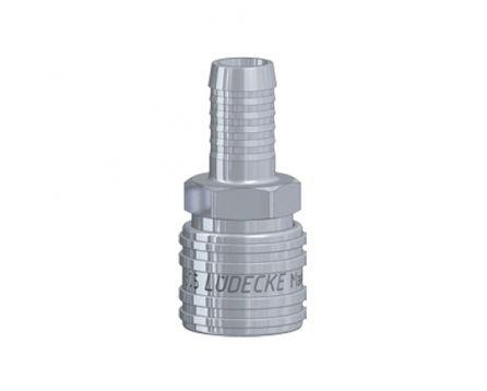 Rychlospojka Lüdecke ESE 10mm hladká ventil
