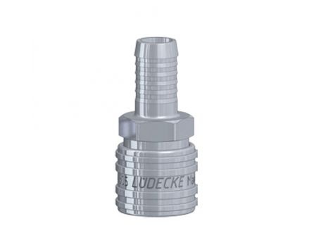 Rychlospojka Lüdecke ESE 13mm hladká ventil