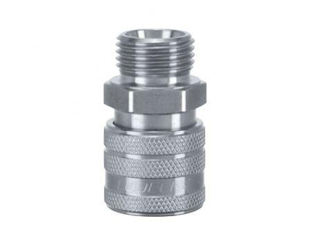 """Rychlospojka ESE 3/8"""" vnější rýhovaná ventil"""