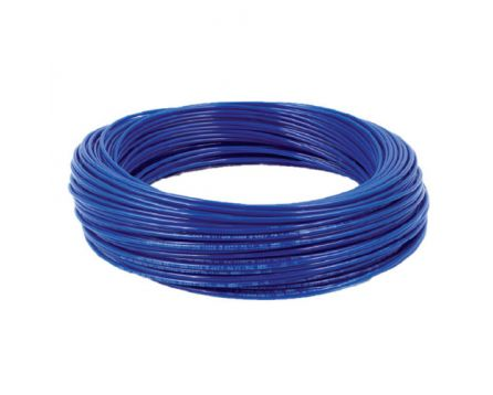 Hadička PE 6/4 mm modrá
