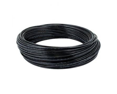 Hadička plastová PE 6/4 mm černá