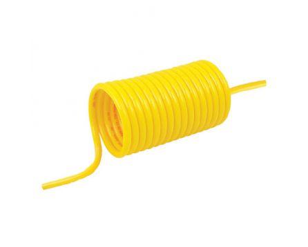 Hadice spirálová PA12 PHLY 12/8mm 5m žlutá