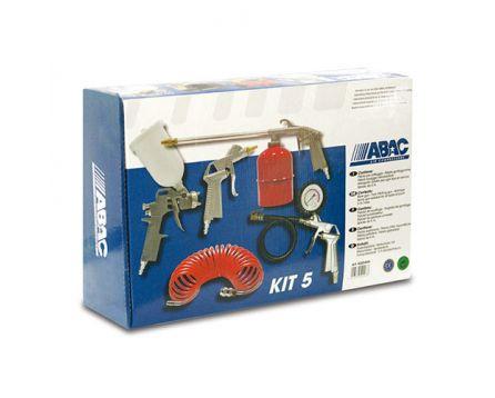 Sada Pneumatic Kit 5-dílná, pistole spodní