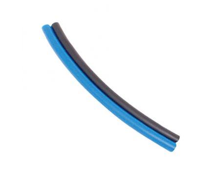 Hadička polyuretan PU dvojitá 6/4 modrá-černá