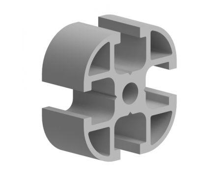 Profil hliníkový, série AC 30-6, 30x30