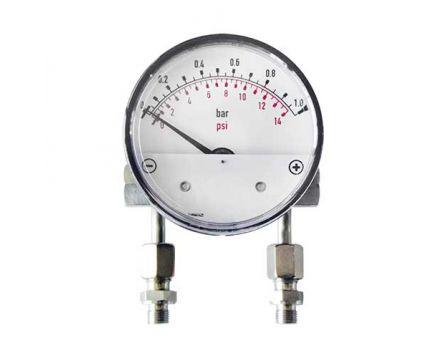 Manometr diferenční MDHI50 s připojovacími trubkami