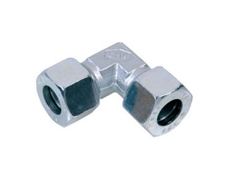 Koleno hydraulické F 15mm L nerez