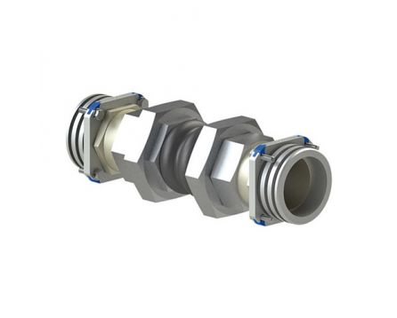 Šroubení hydraulické ER 8x12mm L nerez